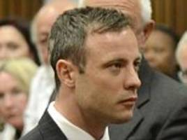 jailed oscar pistorius 'is so paranoid about being poisoned in prison that he only eats tinned food - and has lost so much weight his blades no longer fit'
