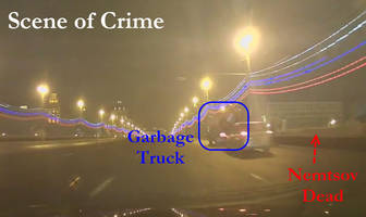 Caught On Tape: DashCam Footage Captures Nemtsov Murder Scene